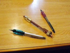 メカニカルペン 3本