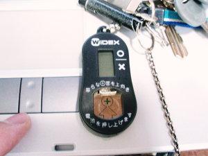 お気に入りの電池チェッカー