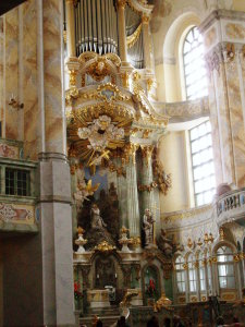 ドレスデンの聖フラウエン教会礼拝堂
