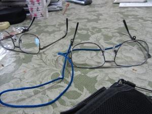 二つのメガネ