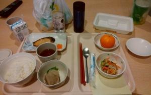 ある日の病院食